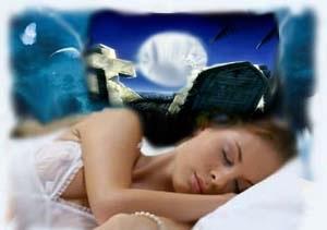 Девушке снится сон про кладбище