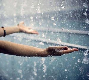 Попасть под проливной дождь во сне