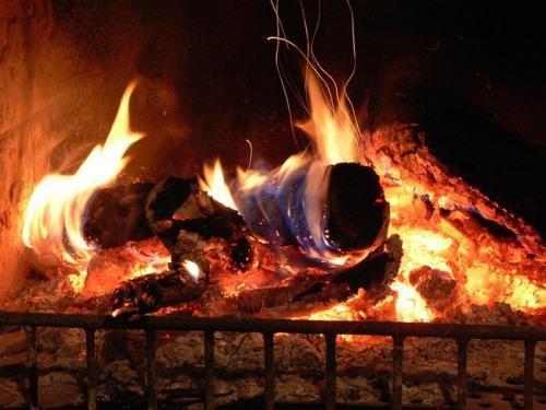 Пламя камина