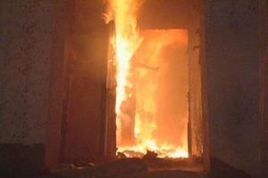 Огонь в комнате