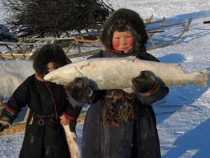 Продавец рыбы