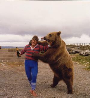 Медведь собутыльник