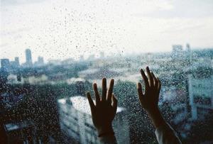 Дождь, окно