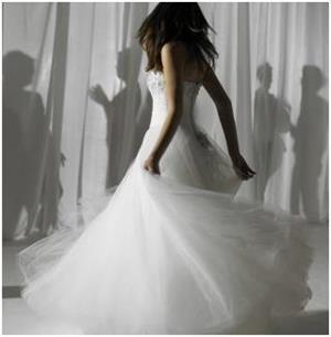 Примерять свадебное платье