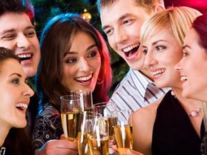 Общение в праздничной обстановке