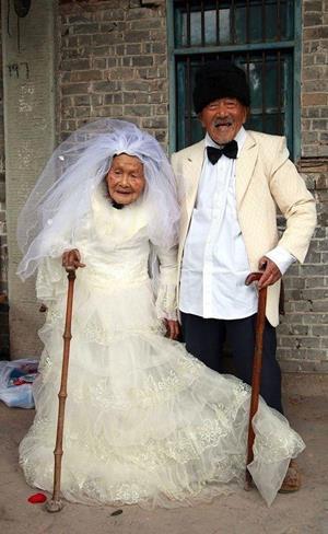 Свадьба пожилых