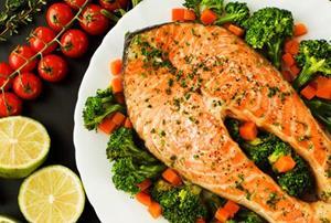 Хорошо приготовленная рыба