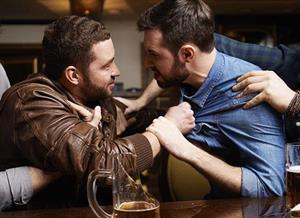 Разборка с пьяным