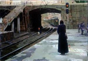 Ждать поезд