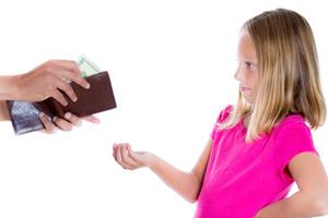 Просьбы детей о деньгах