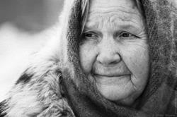 Старушка мать