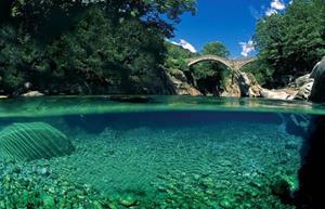 Чистая река