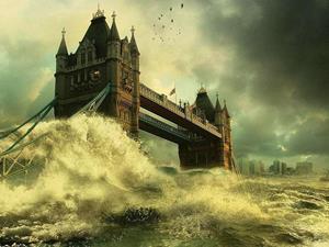 Наводнение с моста