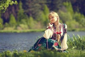 Деревенская женщина