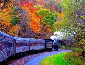 Поворот поезда