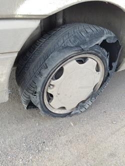 Неприятности в дороге