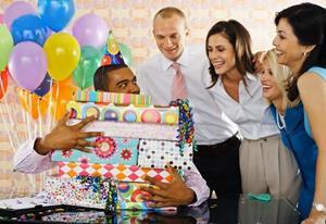 День рождения коллеги.