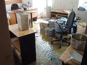 Потоп в офисе