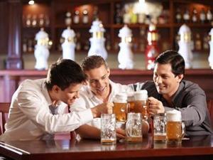 Посидеть с пивом