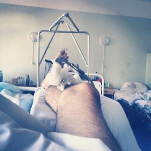 Лежание в больнице
