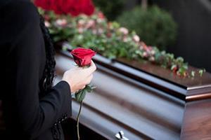 Похороны в дом