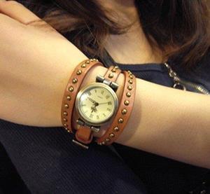 Ручные часы с браслетом