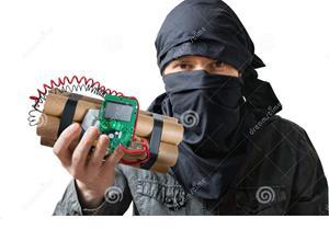 Бомба в руках террориста