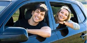 Езда в машине с мужчиной