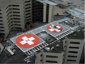 Крыша больницы