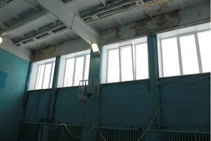 Школа с протекающей крышей