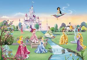 Воздушный замок с принцессами
