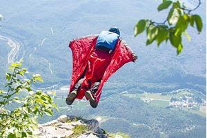 Полететь во время прыжка