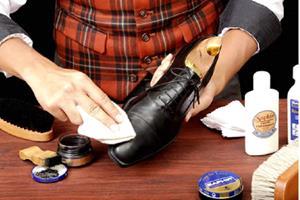 Занятия со старой обувью