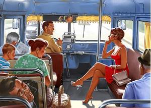 Знакомиться в транспорте