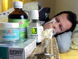 Мужчина заболел