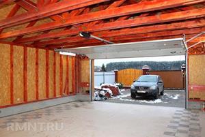 Чистый и ухоженный гараж