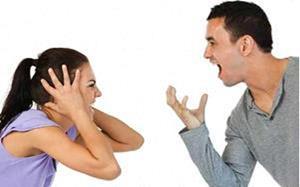 Ссора с мужем