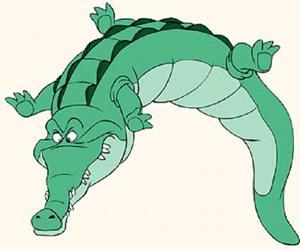 Рисунок крокодила