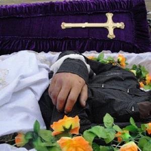Покойник в гробу во сне