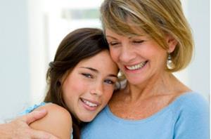 Ласка и поддержка мамы