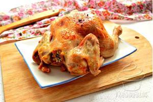Сочный и острый цыплёнок