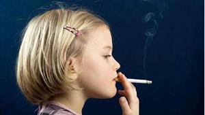 Ребёнок с сигаретой