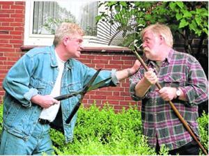 Ссора с соседом
