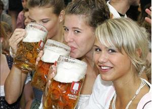Распитие пива в компании