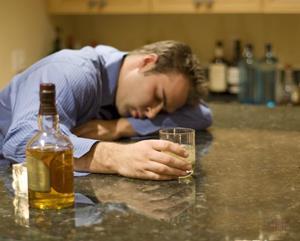Перебор спиртного