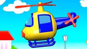 Вертолёт из детской книжки