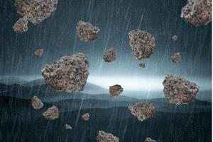 Падающие с неба камни