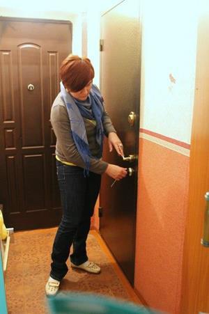 Закрывание дверей