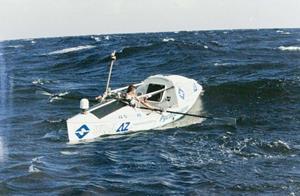 Пересечение моря на лодке