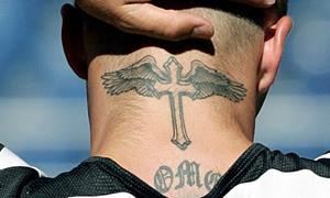 Тату в виде креста